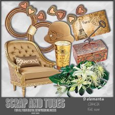 Designer Mix 10 - Household Elements CU4CU by Scrap and Tubes