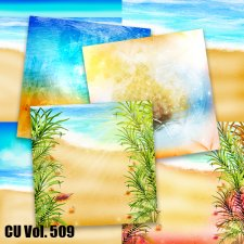CU Vol 509 Summer Beach Papers by Lemur Designs