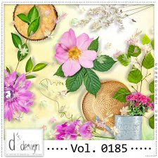 Vol. 0185 Spring Nature Mix by Doudou Design