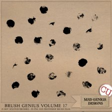 Brush Genius Volume Eighteen by Mad Genius Designs