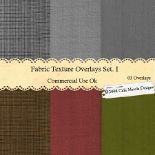 Fabric Texture Overlays Set 1 by Cida Merola