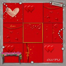 PAPERS Vol 105 Valentine Day byMurielle