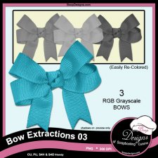 Bow Extrations 03 by Boop Designs