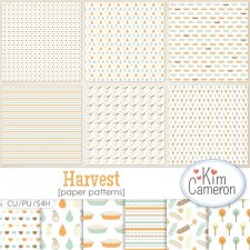 Harvest Patterns Templates by Kim Cameron