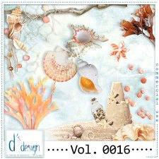 Vol. 0013 to 0016 - Beach Mix by Doudou's Design