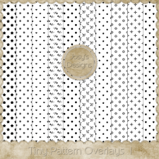 Tiny Pattern Overlays 1 by Josy