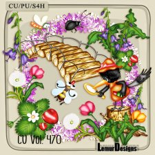 CU Vol 470 Summer Nature by Lemur Designs