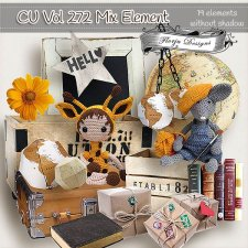 CU vol 272 Mix Elements by Florju Designs
