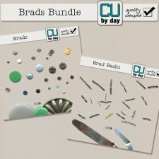 Brads and Backs Bundle