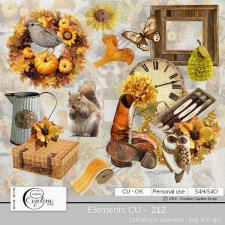Elements CU - 212 by Cajoline-Scrap