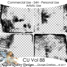 Grunge Overlays - CU Vol 92 EXCLUSIVE by MagicalReality Designs