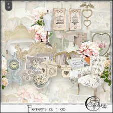 Elements CU - 100 by Cajoline-Scrap