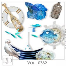 Vol. 0382 Sea Mix by D's Design