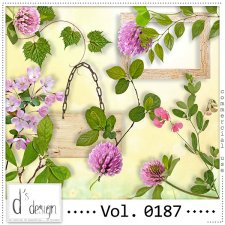 Vol. 0187 Spring Nature Mix by Doudou Design