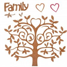 EXCLUSIVE Family Tree by Silver Splashes