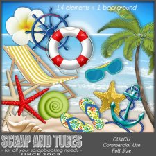 Grab Bag Ocean 2 (CU4CU) by Scrap and Tubes