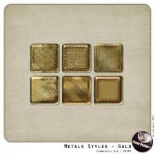 Metals Styles - Gold by MoonDesigns