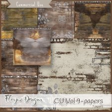 CU vol 9 Papers by Florju Designs