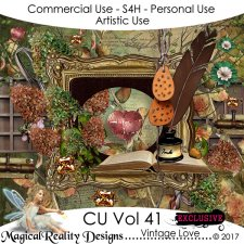 Vintage Love CU Vol 41 EXCLUSIVE by MagicalReality Designs