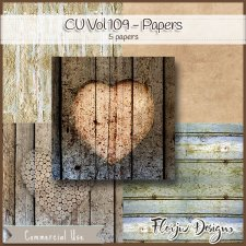 CU vol 109 Papers by Florju Designs