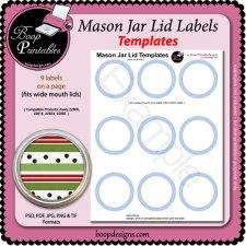 jar lid label templates 5294 by boop printable designs jar lid