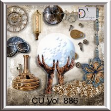 Vol. 886 Steampunk Mix by Doudou Design