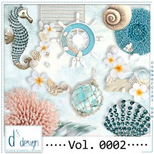 Vol. 0002 Beach Mix by Doudou Design