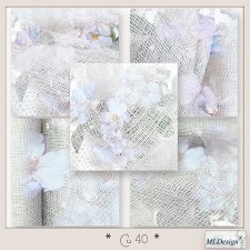 CU set 40 Floral Papers by MLDesigns
