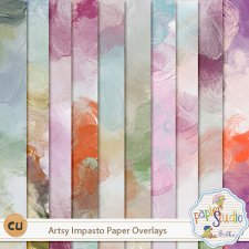 Artsy Impasto Papers EXCLUSIVE by PapierStudio Silke