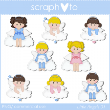 Little Angels 01 by Scraphoto Studio