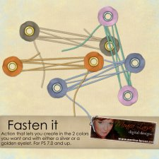 Fasten It by Monica Larsen