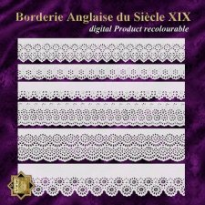 Borderie Anglaise ducle XIX by Cari Lopez