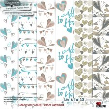 Collections Vol 08-Paper Patterned