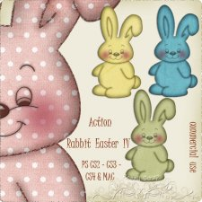 Action - Rabbit Easter IV by Rose.li