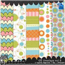 Overlays vol. 8 by Peek a Boo Designs