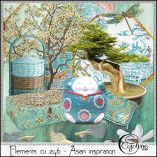 Elements CU - 246 Asian inspiration by Cajoline-Scrap