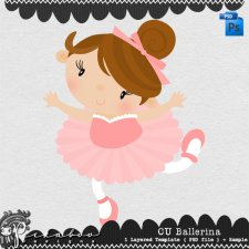 Ballerina Layered Template by Peek a Boo Designs