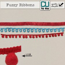 Fuzzy Ribbons - CUbyDay EXCLUSIVE