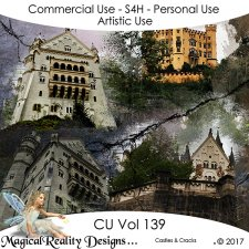 Castles And Cracks - CU Vol 139 by MagicalReality Designs