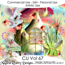 Magic Spring Mix - CU Vol 67 by MagicalReality Designs