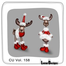 CU Vol 158 Animals Pack 4 by Lemur Designs