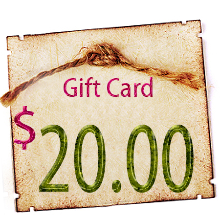 Gift Certificate - $20.00 in Digitals