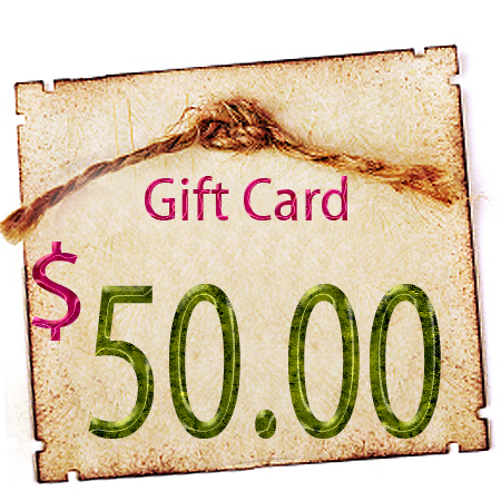 Gift Certificate - $50.00 in Digitals