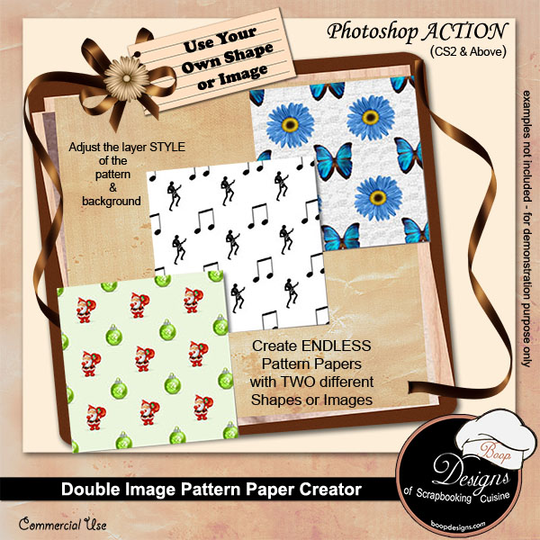 Image Paper Creator by Boop Designs