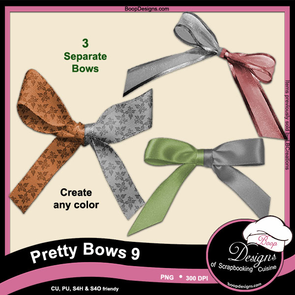 Pretty Bows 09 byBoop Designs