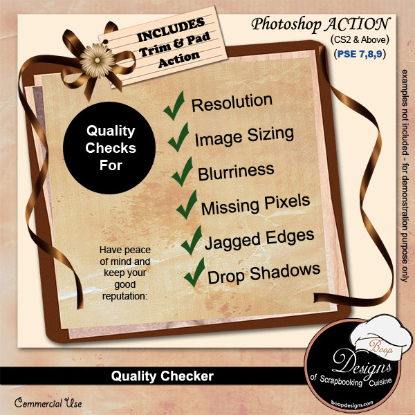Quality Checker by Boop Designs