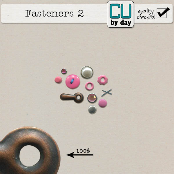 Fasteners 2 - CUbyDay EXCLUSIVE