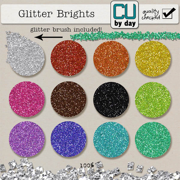 Glitter Brights - CUbyDay EXCLUSIVE
