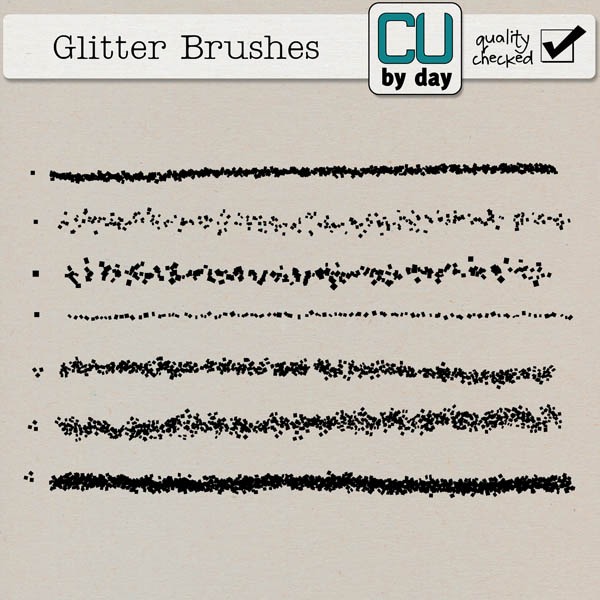 Glitter Brushes - CUbyDay EXCLUSIVE