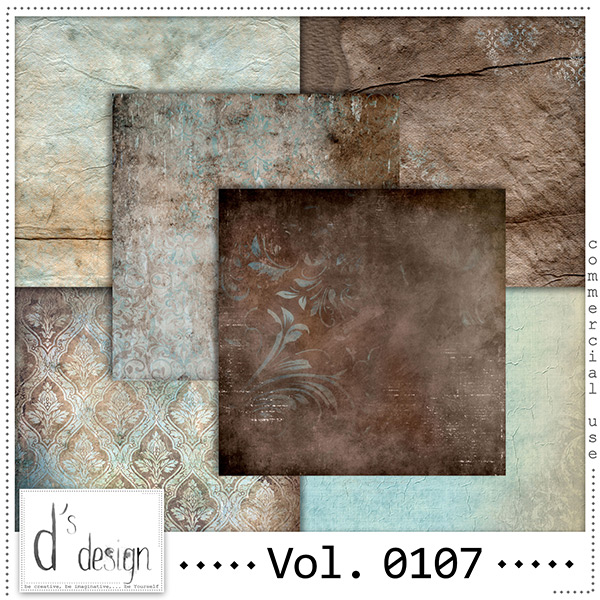 Vol. 0107 Vintage papers by Doudou Design